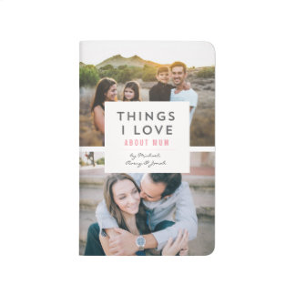 """Things I love About Mum"" Photo Mini Book"