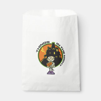 Things In The Night Halloween Favor Bags Favour Bags