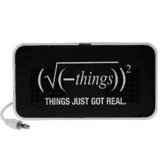 things just got real iPhone speaker
