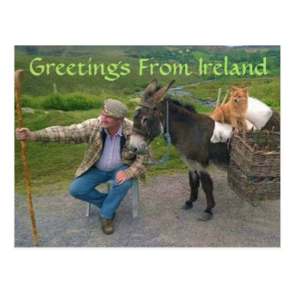 Things you'll see in Ireland Postcard