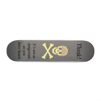Think 18.1 Cm Old School Skateboard Deck