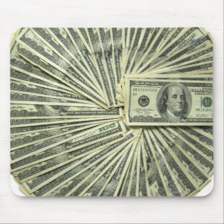 Think about Money all day. Mouse Mat