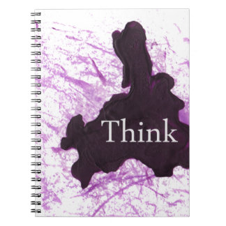 Think Abstract Note Books