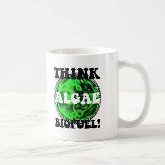 Think algae biofuel! mugs