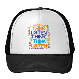 think and listen cap