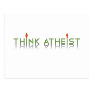 Think Atheist Postcard