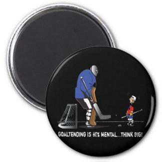 Think BIG! 6 Cm Round Magnet