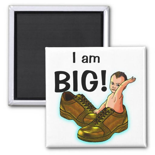 Think BIG! Refrigerator Magnets