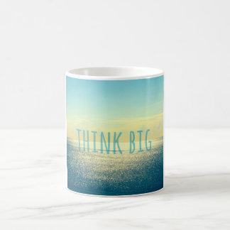 THINK BIG OCEAN PHOTO MUG