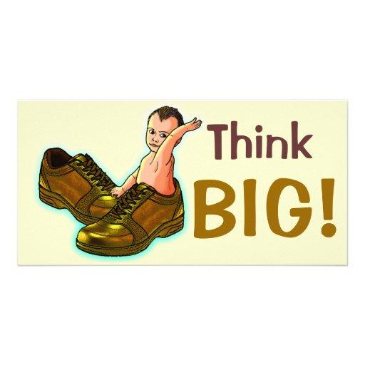 Think BIG! Custom Photo Card
