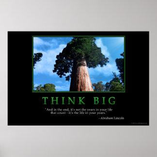 Think Big Poster