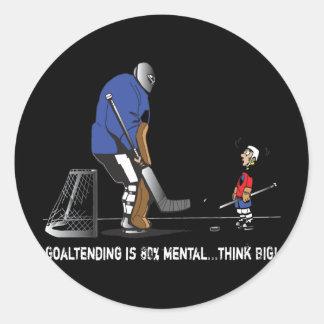 Think BIG! Round Sticker