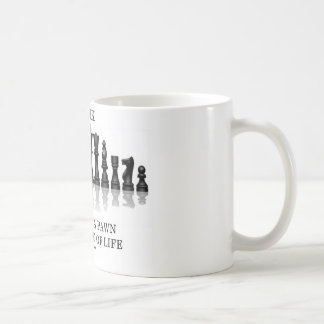 Think (Chess) Do Not Be A Pawn In The Game Of Life Classic White Coffee Mug