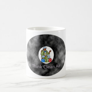 Think Clean Air Teacher & Children Basic White Mug