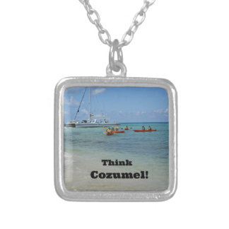 Think Cozumel Personalized Necklace