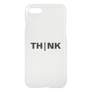 THINK Custom iPhone 7 Clearly™ Deflector Case