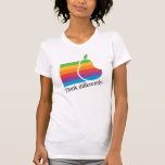 Think Differently - Retro Apple Parody Shirt