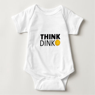 Think Dink  (Pickleball) Baby Bodysuit