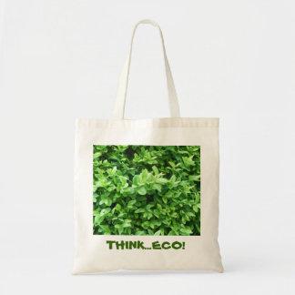 """THINK...ECO"" Renewable Grocery Bag"