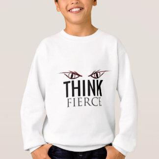 Think Fierce Red - Designer Label Sweatshirt