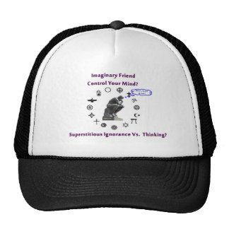 Think for Yourself avoid Superstitious Ignorance Hats