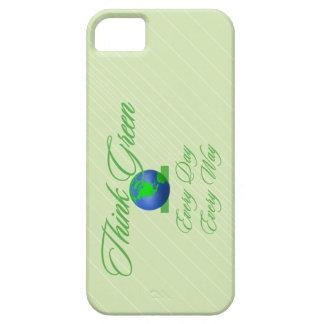 Think Green 2 Custom iPhone 5 Case