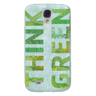 Think Green 3 Galaxy S4 Covers
