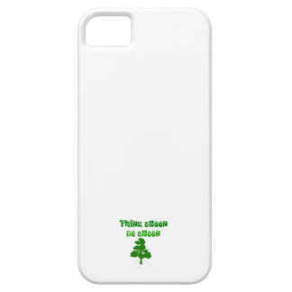 Think Green Be Green iPhone 5 Cover