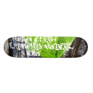 THiNK GREEN Board - www.pathwalkimages.com 19.7 Cm Skateboard Deck
