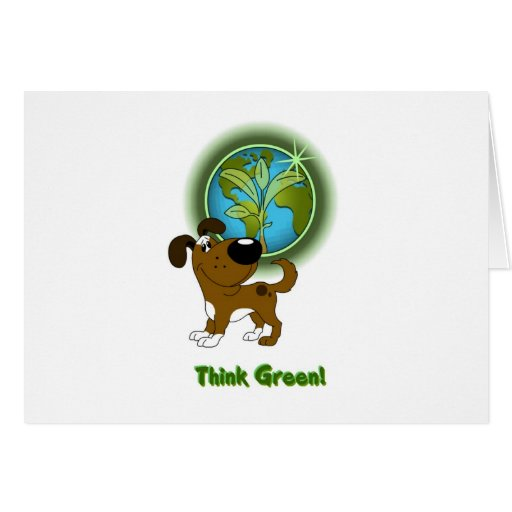 Think Green! (Boots) Card