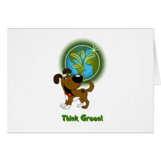 Think Green - Boots Cards