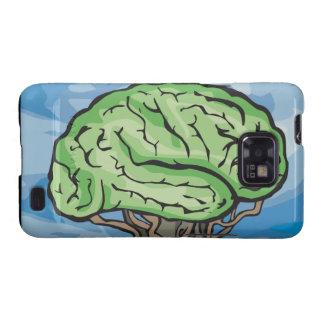 Think Green Brain Galaxy S2 Covers
