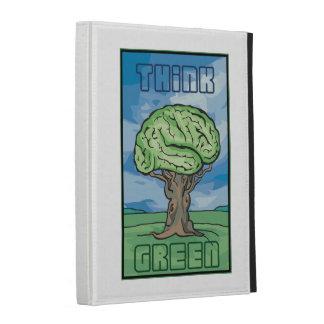 Think Green Brain iPad Case