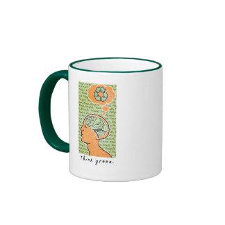 Think Green Brain Power Mugs