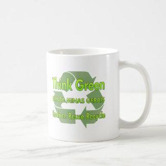 Think Green Brazil Minas Gerais Basic White Mug