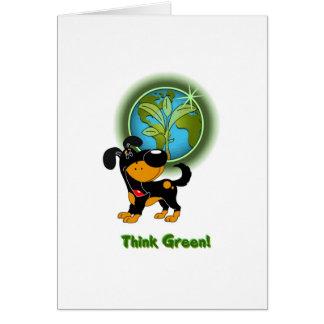 Think Green - Bubba Card
