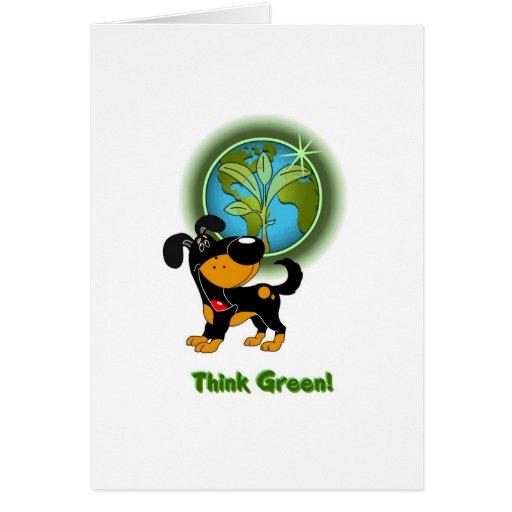 Think Green! - Bubba Card
