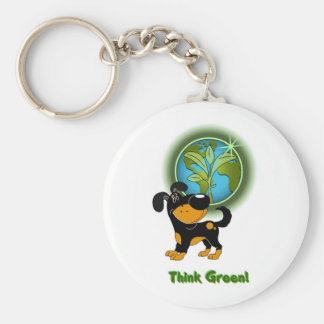Think Green Bubba Key Chains