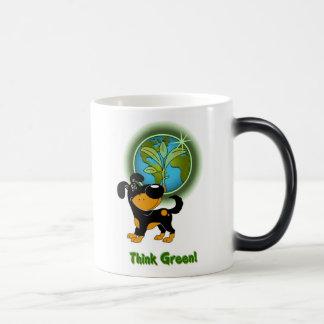 Think Green! (Bubba) Morphing Mug