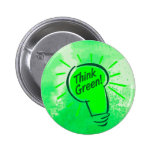 Think Green! Button