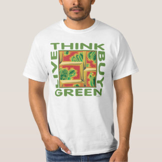 Think Green, Cactus T-Shirt