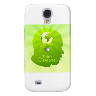 Think Green Galaxy S4 Covers