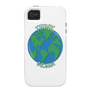 Think Green Vibe iPhone 4 Case