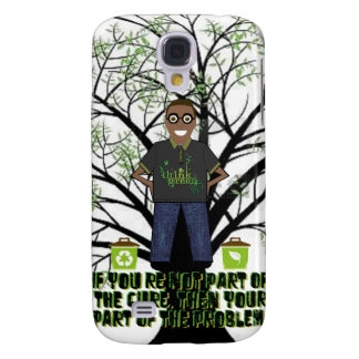 Think Green Galaxy S4 Cases