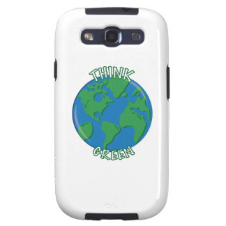 Think Green Samsung Galaxy SIII Covers