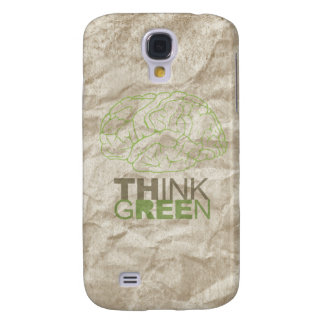 THINK GREEN - GALAXY S4 CASE