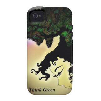 Think Green iPhone 4/4S Covers