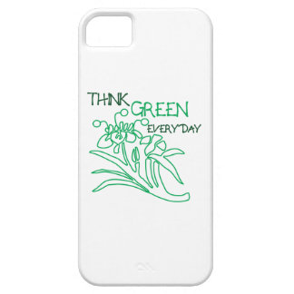 Think Green iPhone 5 Covers