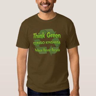 Think Green Congo Kinshasa Tee Shirt