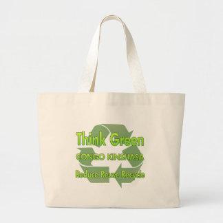 Think Green Congo Kinshasa Canvas Bag